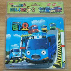 The Little Bus Tayo - Mini Puzzle 2 (12pcs + 16pcs) Korea TV Animation Toy