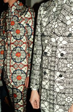 Alexander McQueen Fall 2013. Like stained glass.