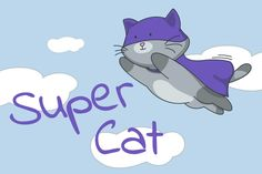 Be on the lookout for the newest addition to our completely FREE sticker store...#SuperCat! #Zangi