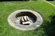 30 dollar, easy DIY fire pit!