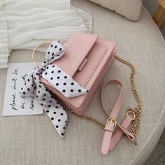 Bags 840625086686019571 - Elegant Female Ribbon Bow Tote Bag 2019 Summer New High Quality PU Leather Women's Designer Handbag Chain Shoulder Messenger bag – Green Source by CreativeDreamscape Trendy Purses, Cheap Purses, Cute Purses, Cheap Bags, Small Purses, Unique Purses, Handmade Purses, Unique Bags, Pink Purses