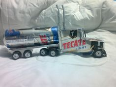 trailer hecho con latas de aluminio tutorial truck made ​​from aluminu... Recyclage de cannettes