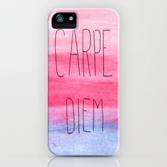 Seize The Day iPhone Case