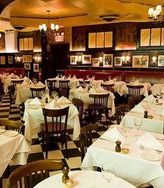 Minetta Tavern, a neighborhood staple since 1937