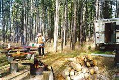 Bakershole Campground, Yellowstone NP Affordable camping with electric but no water or sewer. First come first serve