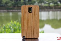 Natural Handmade Handcrafted hard wood wooden Bamboo bump protective Case Cover shell for Samsung GALAXY NOTEIII NOTE3 N9000 N9002 N9005 N9009