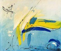 Abstract painting by Vera Komnig