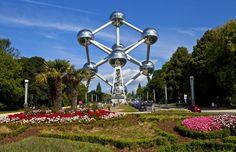 Atomium, Bruselas © 123RF http://www.anayatouring.com/blog/2015/02/27/10-motivos-para-visitar-bruselas/