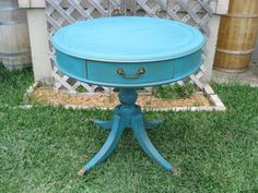 Vintage Claw Foot Round Table - $150