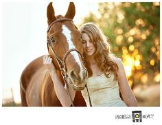 """Horse wedding photo   """"A Girl and her Horse""""… » Rochelle Mort Studio"""