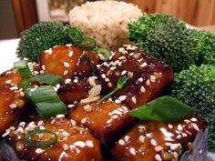 Vegan Sesame Tofu