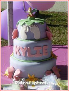 Tinkerbell Cake *Baby Shower* Www.123frostingstreet.com