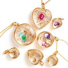 Loquet London charm necklaces