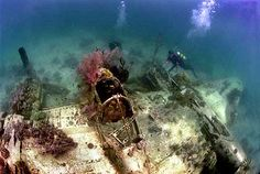solomon wreck diving