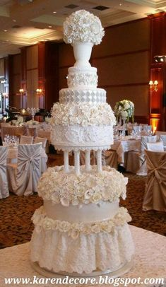 Decorate Your Mind, Your Body And Your Space: Trends For Wedding Cakes 2015: From Classic Traditional To Vintage