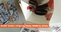 artists' and fine press limited edition books and bindings Artists, Contemporary, Illustration, Books, Cards, Livros, Artist, Book, Livres