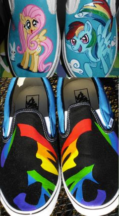 Mlp Hand Painted And Vinyls On Pinterest