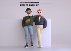 New York Times Smarter Living Guide on Behance New York Times, 3d Character, Character Concept, Character Design, Behance, Editorial Articles, 365days, Fashion Videos, One Design