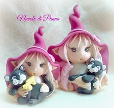 Foto Polymer Clay Fairy, Fimo Clay, Polymer Clay Projects, Fairy Crafts, Diy And Crafts, Elfa, Elf Doll, Clay Fairies, Play Clay