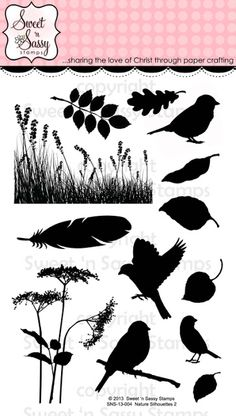 Featuring Nature Silhouettes 2