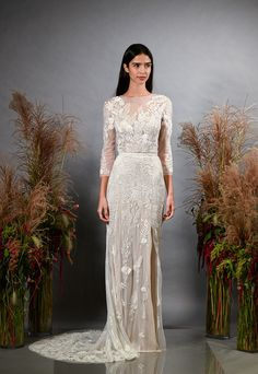 0bb605d1dc7 See all of the newest wedding dresses from the Hermione De Paula Fall 2019  collection.