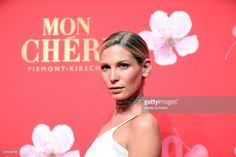 Sarah Brandner at the Mon Cheri Barbara Tag event in Munich