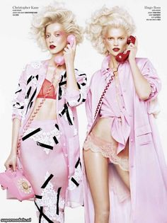 Double Vision' Photographed by Sharif Hamza Scanned by glossyn - V #82 Spring 2013