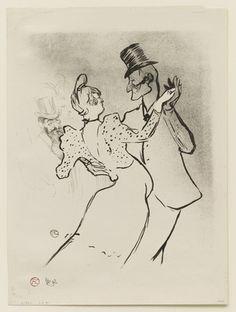 La Goulue  Henri de Toulouse-Lautrec