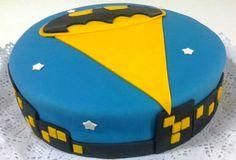"""Torta para Niños """"Batman"""" de Pastelería dCondorelli - www.dcondorelli.cl - Santiago, Chile"""