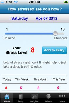 an all-in-one personal stress management app that tracks, identifies, and helps relieve your daily stress.  Free + optional IAP's