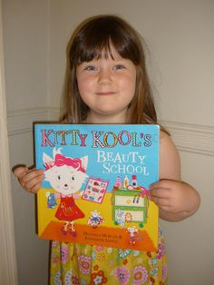 #passabook recommendation from Jess, daughter of Community Librarian Ben. 'Kitty Kool's Beauty School'