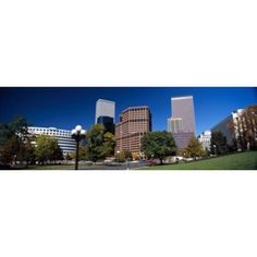 Buildings in a city Downtown Denver Denver Colorado USA 2011 Canvas Art - Panoramic Images (36 x 12)