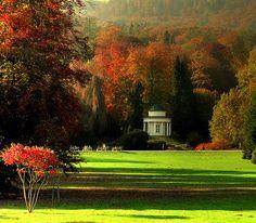 Park Wilhelmshöhe, Europe's largest hillside park, is located in Kassel - Germany
