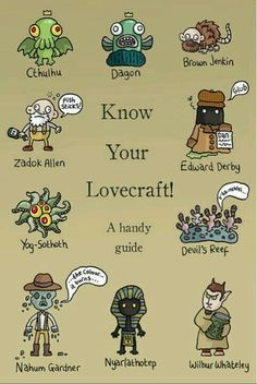 Know your Lovecraft