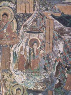 Los frescos de la dinastía Tang Dunhuang [Fotos] _ Mar del Norte y el monasterio budista tibetano _ principales lugares de interés cultural