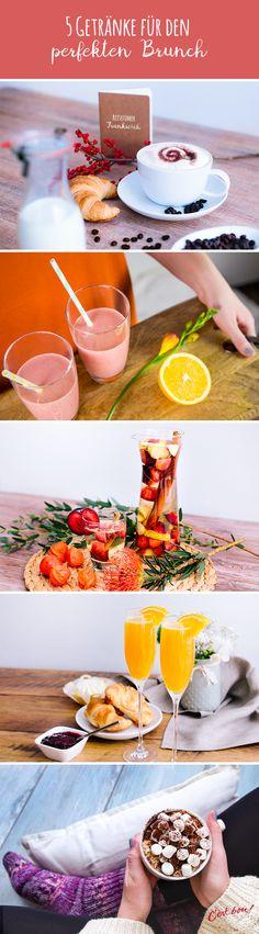 5 schöne Getränke-Ideen für Euren nächsten Brunch <3