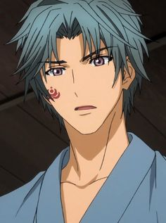 Inukai Genpachi. I love when his brother tells him he needs to find a lover and he says shino hahaha