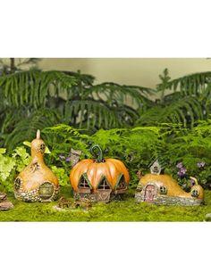 Fairy Garden Gourd-Shaped Fairy Home
