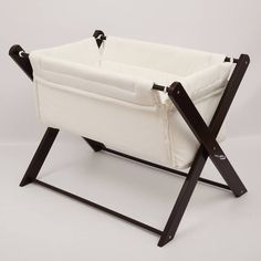 The Poco baby crib is a beautiful crib for any nursery.Available with a White or Coco frameMade from beech wood with a Coco or White finish the Poco crib is a great quality product. The padded crib and mattress cover are washable at 60 degrees. This is a wonderful alternative to the traditional crib or moses basket and a great benefit is they are easily folded making it very portable. Comes complete with mattress and cover. Suitable from birth to 6 months.Cotton with pollester fill, and…
