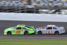 Danica Patrick and Smoke getting to know each other.