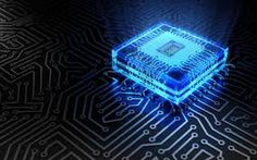 Image result for blue circuit wallpaper