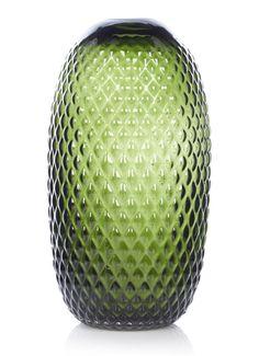 FEST Amsterdam Facet vaas van glas 30 cm • de Bijenkorf