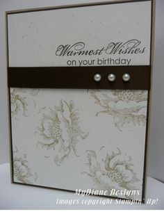 MyDiane Designs, Stampin' Up!, Stippled Blossoms, Blooming with Kindness, handmade cards