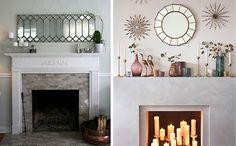 Ideas para decorar con espejos Ideas Para, Home Decor, Fire Places, Mirrors, Decoration Home, House Decorations, Dining Room, Room Decor, Home Interior Design