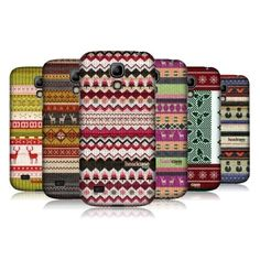 HEAD CASE KNITTED CHRISTMAS BACK CASE FOR SAMSUNG GALAXY S4 MINI I9190 I9192 #HeadCaseDesigns