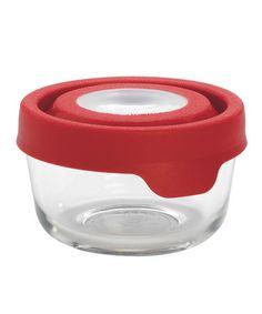 Cherry 1 Cup Round TrueSeal Storage Container