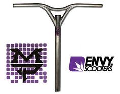 Envy Max Peters MP Scooter Bars - Standard 20 x 18 by Blunt Scooters. $64.99. Hopefully you know who Max Peters is, but if you don?t then we?ll tell you that he?s one of the most innovative pro scooter riders around, and Envy Scooters (also known as Blunt Scooters) thinks so too, which is why they made a signature series pro scooter bar called the Envy Max Peters ?MP? Signature Scooter Bar . No ordinary Y bar, the Max Peters MP Bars are made from 4130 Chromoly Stee...
