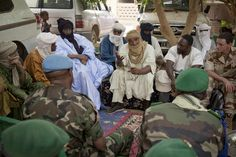 Military Delegation from Bamako Arrives in Tessalit, Northern Mali