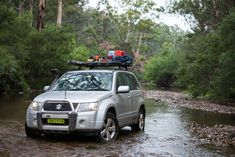 Grand Vitara taken in the Vic High Country