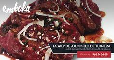 Hoy estrenamos un nuevo plato, Tataky de Solomillo de Ternera. Ven y se el primer@ en probarlo, que no te lo cuenten. Estamos en La Flota, Murcia.  Reservas: 968241668